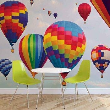 Papel de parede Hot Air Baloons Colours