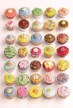 Decoração de parede Howard Shooter - Cupcakes