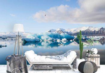Papel de parede Iceberg Reflection