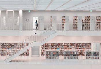 Papel de parede  In The Library