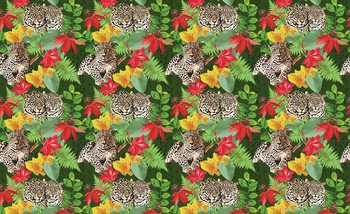 Papel de parede Jungle Cheetah