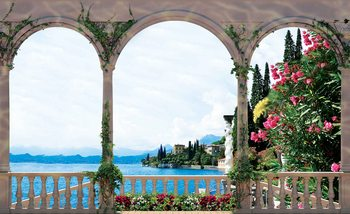 Papel de parede Lake Through The Arches
