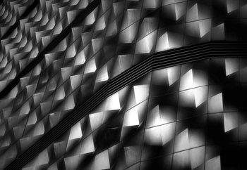 Papel de parede Lights On Facade Peeks
