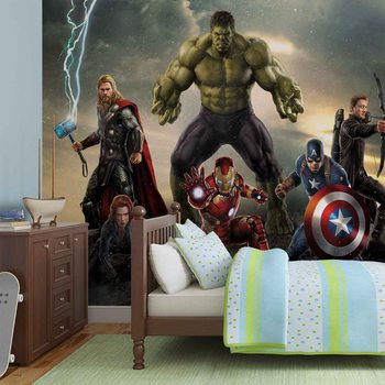 Papel de parede Marvel Avengers Battle