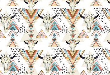 Papel de parede Modern Boho Chic Pattern