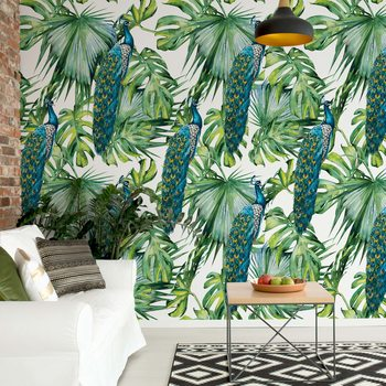 Papel de parede Modern Tropical Pattern