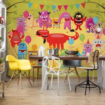 Papel de parede Monsters Party