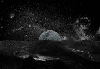 Papel de parede Moonscape
