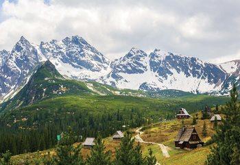 Papel de parede Mountains Alps
