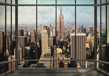 Papel de parede New York - Manhattan Skyline