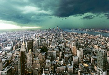 Papel de parede New York Under Storm
