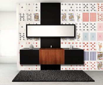 Papel de parede Playing Cards