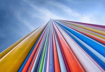 Papel de parede Rainbow From A Cloud