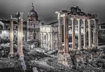 Papel de parede Roman Forum Rome Ancient Ruins