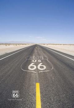 Decoração de parede Route 66 - Road