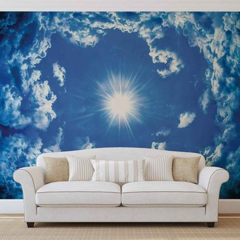 Papel de parede Sky Clouds Sun Nature