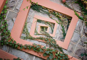 Papel de parede Spiral Window