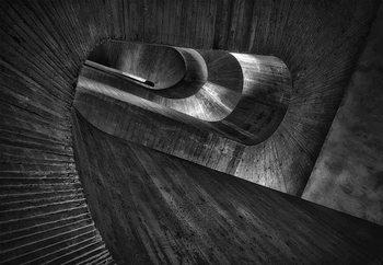 Papel de parede Staircase Concrete