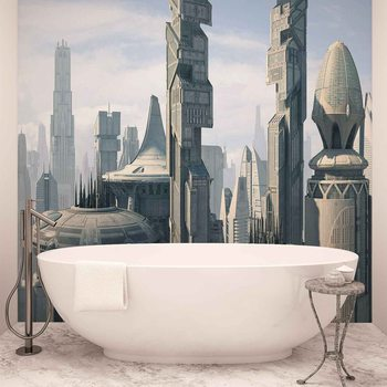 Papel de parede Star Wars City Coruscant
