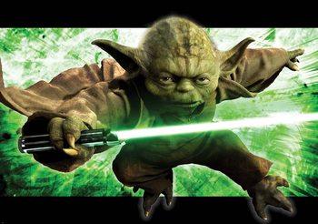 Papel de parede Star Wars Master Yoda