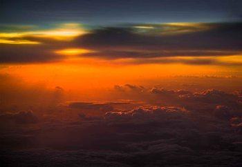 Papel de parede  Sunset Over Sky