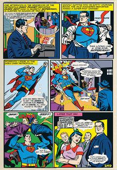 Decoração de parede Superman Comic