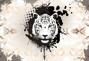 Papel de parede Tiger Abstract