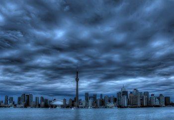 Papel de parede Toronto Blue