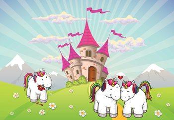 Papel de parede Unicorn Castle