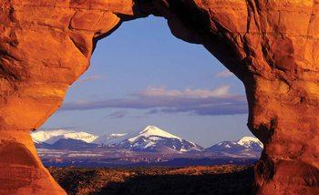 Papel de parede View Rock Mountains Nature