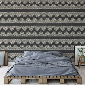 Papel de parede Vintage Lace Pattern