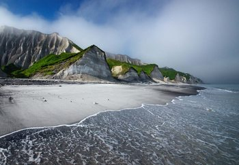Papel de parede White Cliffs Of Iturup Island