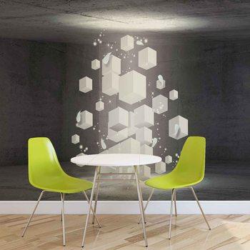 Papel de parede  White Dices
