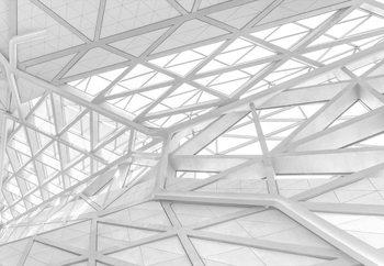 Papel de parede White Web