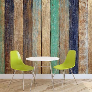 Papel de parede  Wood Fence Planks