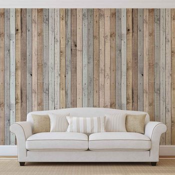 Papel de parede  Wood Planks Texture