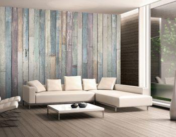 Papel de parede  Wooden Wall