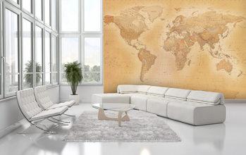 Papel de parede  World Map - Old map