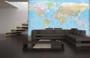 Papel de parede  World Map -  Political