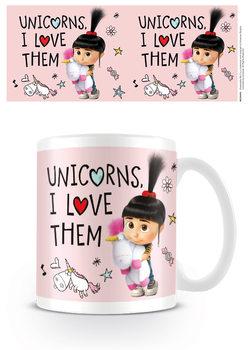 Mug Despicable Me 3 - Unicorns I Love them