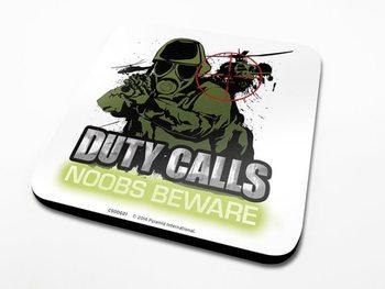Duty Calls  Dessous de Verre