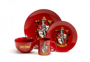 Dinner set Harry Potter - Gryffindor Dishes