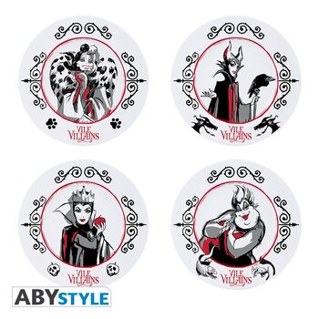 Dishes Disney - Disney Villains