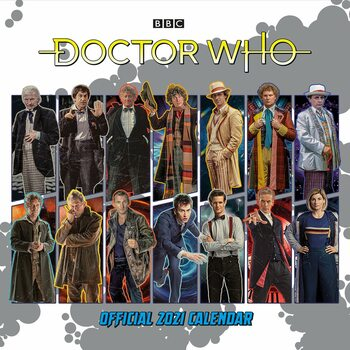 Calendar 2021 Doctor Who - Classic Edition
