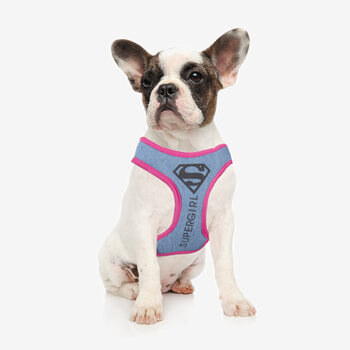 Dog harness Supergirl