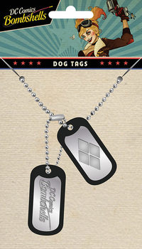 Dog tag DC Comics - Harley Quinn