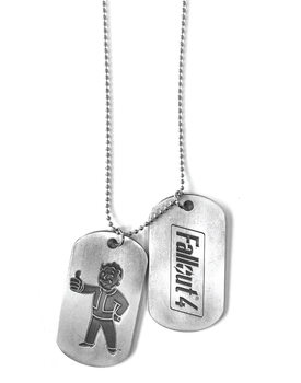 Dog tag  Fallout 4 - Vault Boy