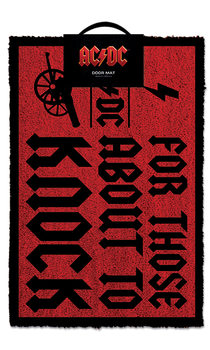 Doormat  AC/DC - For Those About To Knock