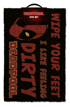 Doormat Deadpool - Dirty