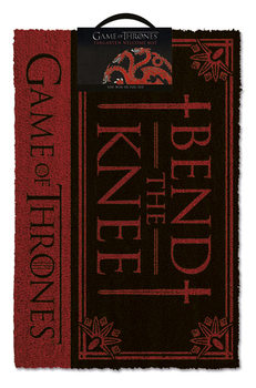 Doormat  Game Of Thrones - Bend the knee